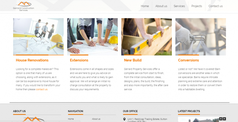 Gerrard Construction Services Vostra Media